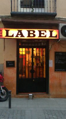 Label - Bar Vegan-friendly