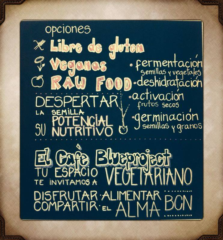 El Café Blueproject- Bar Vegetariano Bio