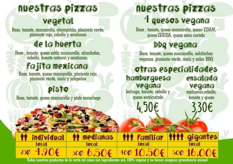 Mayor - Pizzeria Vegan-friendly