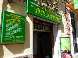 The Nature - Buffet libre vegano