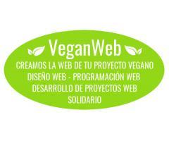 Diseñador Web Vegano - Programador Web Solidario