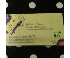 Comida Vegana BCN - A domicilio