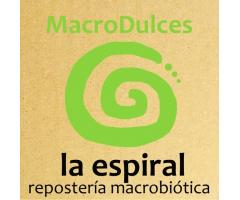 MacroDulces La Espiral - Reposteria Macrobiótica Vegana