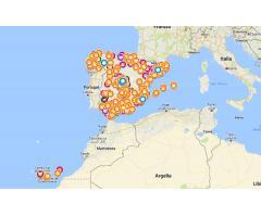 Mapa localizador de refugios, asociaciones, protectoras y santuarios de animales