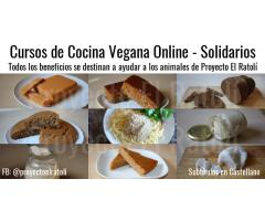 Cursos de Cocina Vegana Online y Solidarios